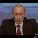 Pierwszy solowy utwór Putina?