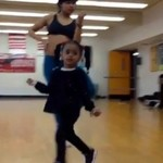 Na zajęciach tanecznych... z dzieckiem!?