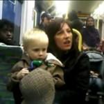 Rasistka atakuje pasażerów autobusu!