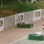 Wypadek na torze F1