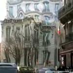 Dziwaczny budynek w Paryżu