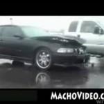 SKASOWAŁ BMW M3!!! IDIOTA!