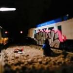 Graffiti w wersji... LEGO!?