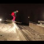 Miejscy narciarze ze Skandynawii