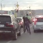 Bójka kierowców - NA PIĘŚCI!