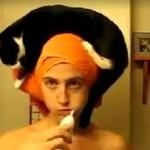 Kot, który kocha ręczniki