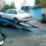 Jak NIE ładować auta - wideo z Rosji!