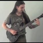 """""""Requiem dla snu"""" na gitarze elektrycznej"""