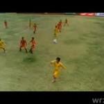 Japończycy grają w piłkę