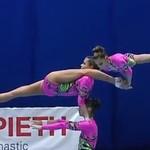 Gimnastyka akrobatyczna Rosjanek