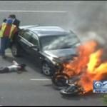 Uratowali życie motocykliście!