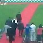 Julia Tymoszenko poleciała na twarz