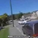 Idiota na jezdni