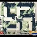 Baza wojskowa w kształcie swastyki