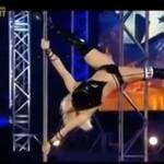 """""""Ukraina Ma Talent"""" - mistrzyni świata w tańcu na rurze"""