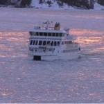 Bałtyk skuty lodem w kwietniu