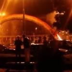 Podpalenie tęczy na Placu Zbawiciela