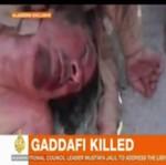 Tłum kopie ciało martwego Kadafiego na ulicach Syrii! (UWAGA: DRASTYCZNE!)