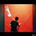 Namalował portret Wałęsy... dwoma palcami!