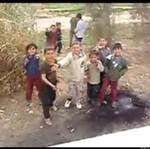 """Żołnierze straszą dzieciaki - co za """"rozrywka""""..."""