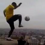 Piłka nożna na wysokościach - ZGROZA!