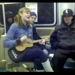 Przypadkowy koncert w metrze