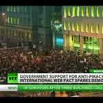 Polacy vs ACTA - reportaż zza granicy!