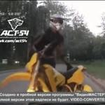 Fatalny zakręt motocyklisty